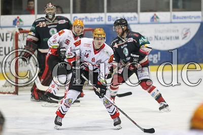 -14- David Stieler (Fischtown Pinguins), in der DEL 2 - Rote Teufel EC Bad Nauheim gegen Fishtown Pinguins Bremerhaven - Foto © A. Chuc