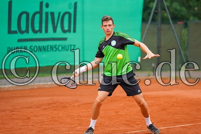Niklas Schell (TC Bad Vilbel), TC Bad Vilbel, Herren Hessenliga , Bad Vilbel, Tennisclub Bad Vilbel, 14.07.19