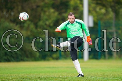 -1- Christopher REUSS (Torwart SV Germania Ockstadt), Kreisliga A Friedberg - SV Germania Ockstadt gegen Traiser FC, Friedberg - OT Ockstadt, Sportplatz Ockstadt, 08.09.19
